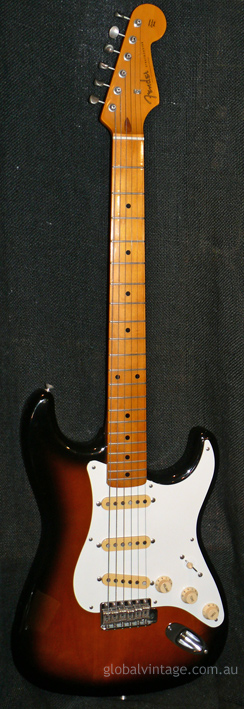 "Fender Japan M.I.J. ""O"" series `57 Stratocaster reissue"