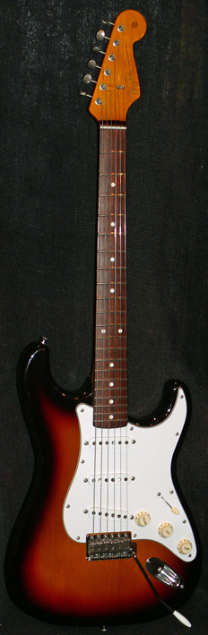 "Fender Japan M.I.J. ""T"" series `62 Stratocaster Reissue"