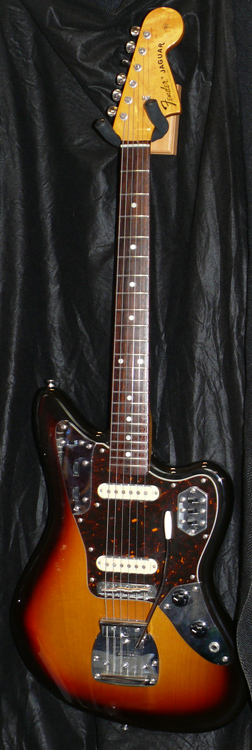 "Fender Japan M.I.J. ""U"" series Jaguar reissue"
