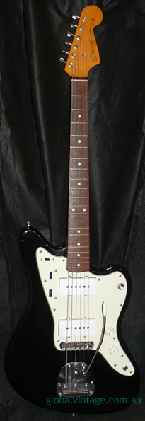 Fender Japan M.I.J. U series Jazzmaster R.I. Black JM66