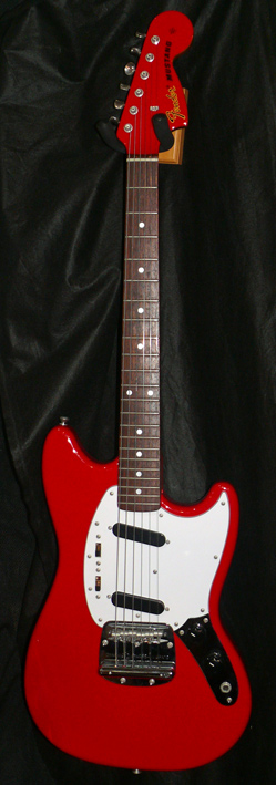 "Fender Japan M.I.J. ''U"" series `69 Mustang Reissue"