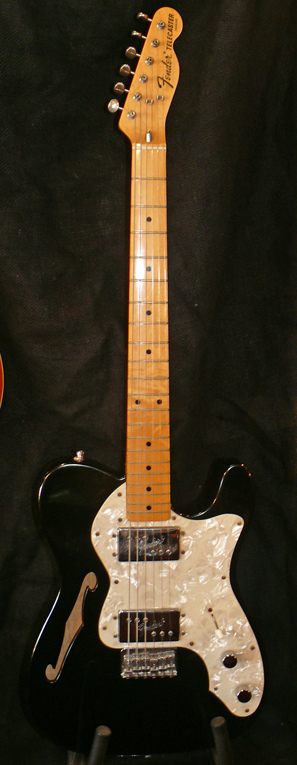 "Fender Japan M.I.J. ""V"" series `72 Thinline Telecaster reissue"