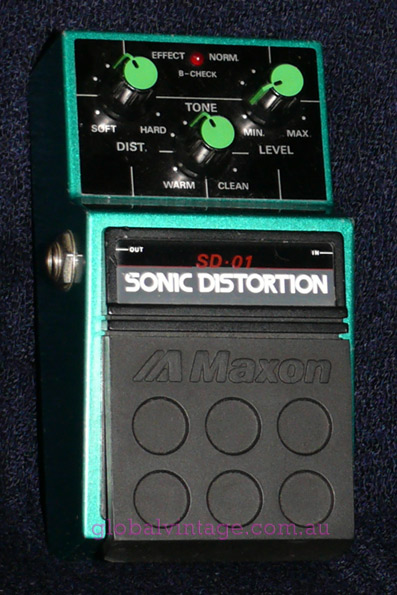 ~SOLD~Maxon Japan SD-01 Sonic Distortion