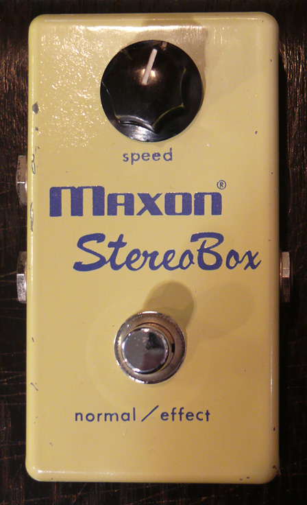 Maxon Japan Stereo Box