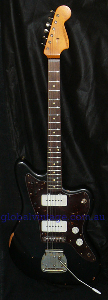 ~SOLD~Nash Guitars U.S.A. Black JM-63