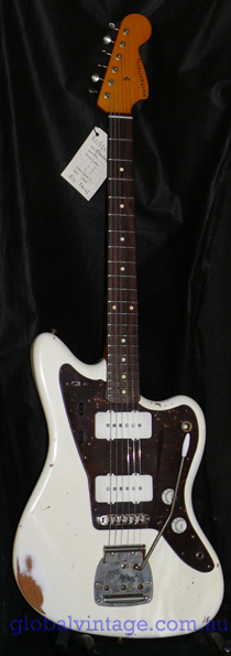 ~SOLD~Nash Guitars JM-63 Olympic White