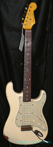 ~SOLD~Nash Guitars USA S-63 Olympic White Stratocaster type