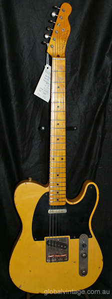 ~SOLD~Nash Guitars T-52 Telecaster type