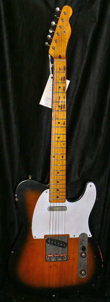 ~SOLD~Nash Guitars U.S.A. T57 2 colour Sunburst  `57 Telecaster