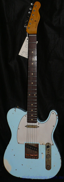 ~Sold~Nash Guitars T63 Sonic Blue Telecaster type