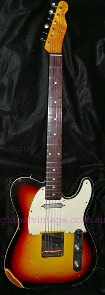 ~SOLD~Nash Guitars U.S.A. TC-63 Double Bound 1963 Tele* Custom t