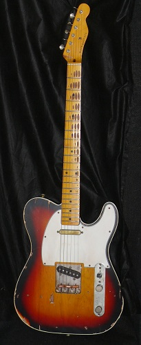 ~SOLD~Nash Guitars TC-63-Maple Neck Tele Custom type