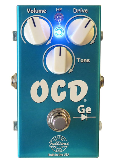 Fulltone U.S.A. CS OCD-Ge - Custom Shop