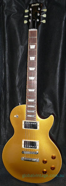 Orville Japan `98 Les Paul Goldtop