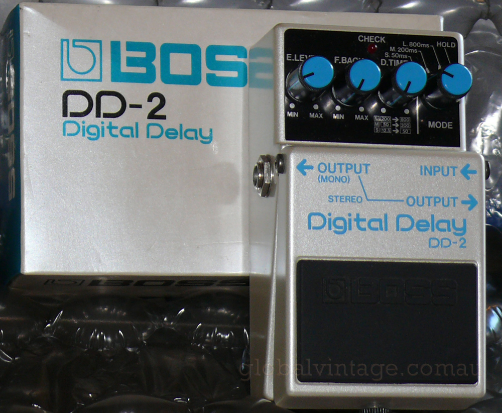 ~SOLD~BOSS Japan DD-2 Digital Delay with box