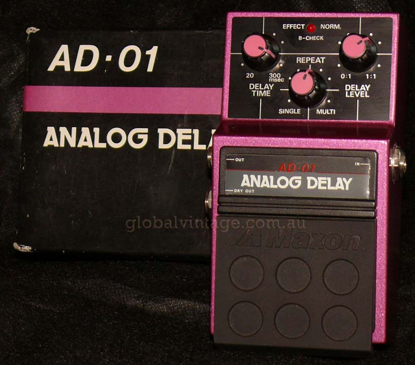 ~SOLD~Maxon Japan AD-01 Analog Delay