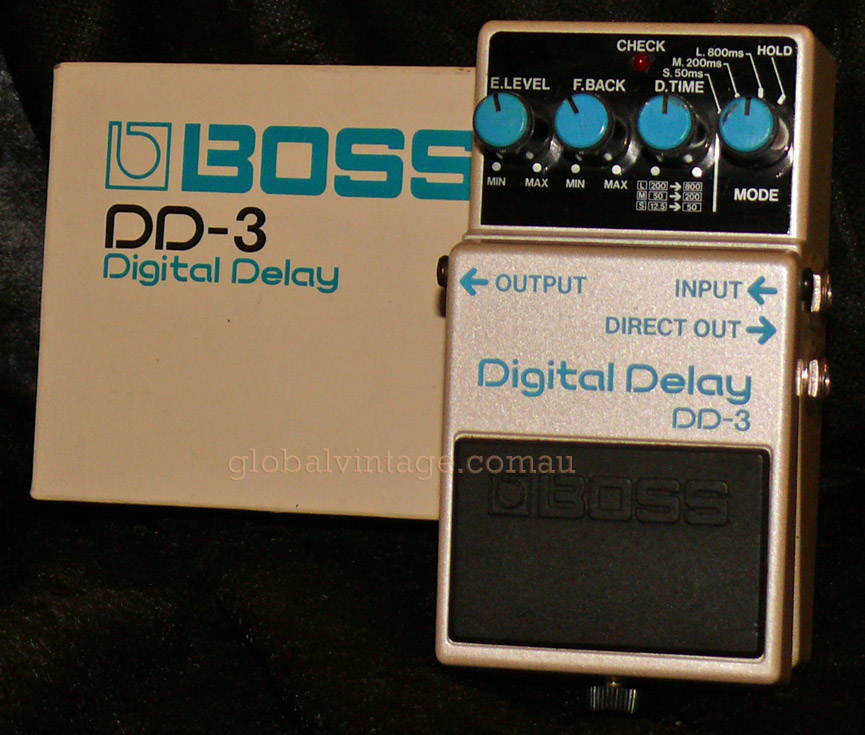 ~SOLD~BOSS japan DD-3 Digital Delay