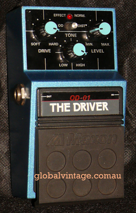 ~SOLD~Maxon Japan `80's The Driver Distotion / Overdrive