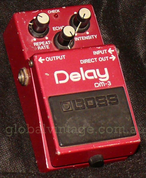 ~SOLD~BOSS Japan DM-3 Analog Delay