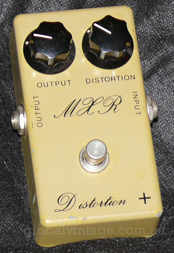 ~SOLD~MXR U.S.A. `79 Script Logo Distortion +