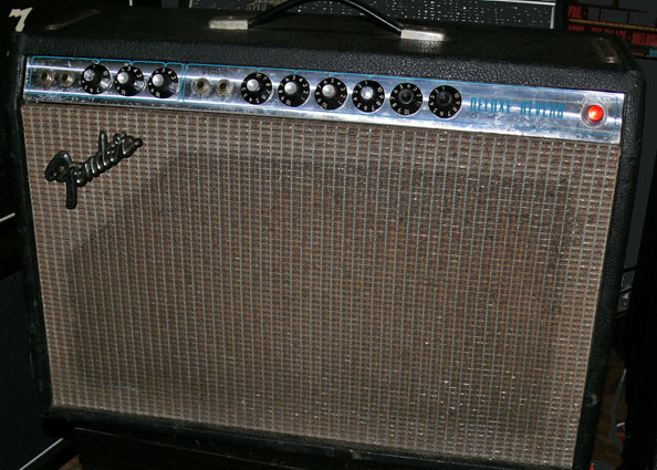 ~SOLD~Fender U.S.A. Deluxe Reverb Amp circa `74-75