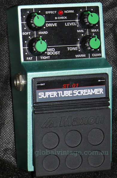 ~SOLD~Maxon Japan ST-01 SUPER TUBE SCREAMER