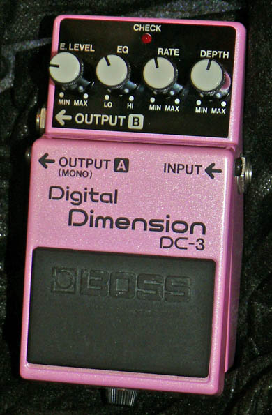 ~SOLD~BOSS Japan Digital Dimension DC-3