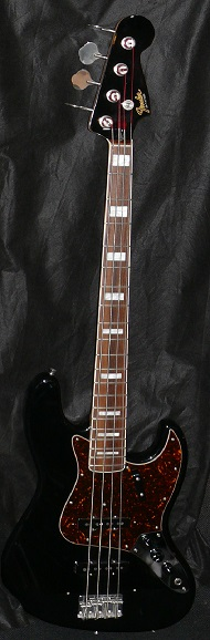 "~SOLD~ Fender Japan M.I.J. ""T"" `75 Black series Jazz Bass R.I."