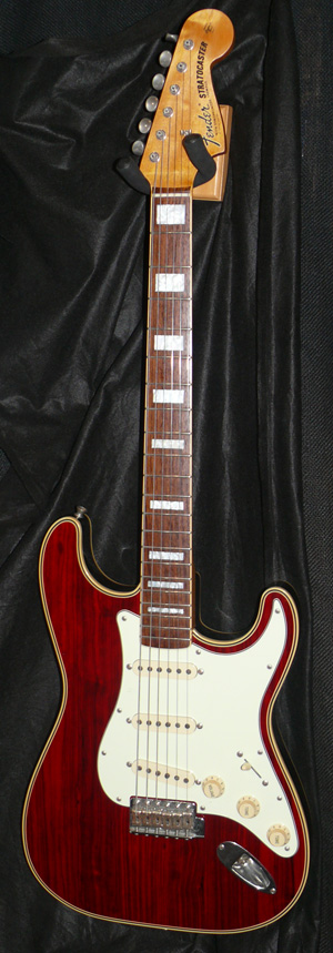 ~SOLD~ Fender Japan C.I.J. ST68-HO hollowbody Stratocaster