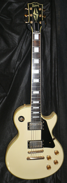 Burny Japan Les Paul Custom type VH-1