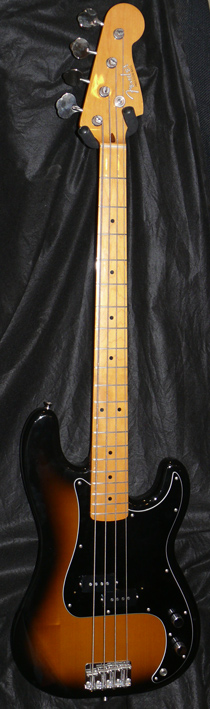 "~SOLD~Fender Japan M.I.J. ""U"" series `57 Precision Bass Reisse"