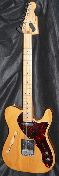 "Fender U.S.A. `97 ""90s Thinline"" Natural"