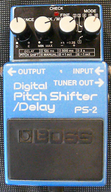 BOSS Japan PS-2 Digital Pitch Shifter/Delay