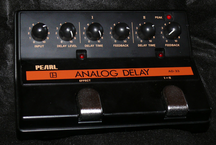 Pearl Japan AD-33 Sound Choice Analog Delay