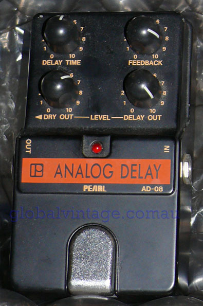 Pearl AD-80 Analog Delay