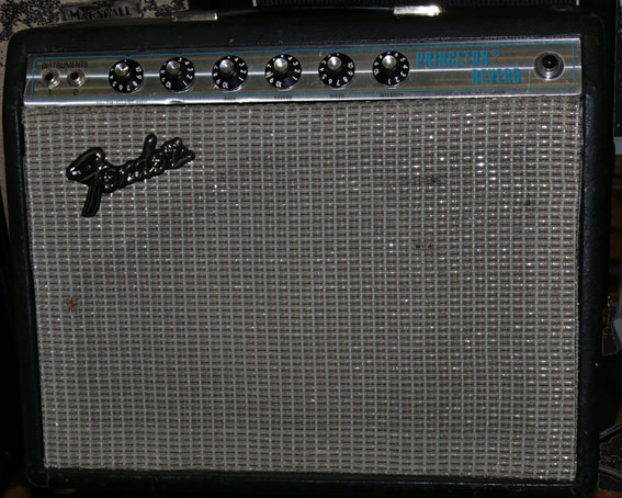 ~SOLD~Fender Silver Face Princeton Reverb