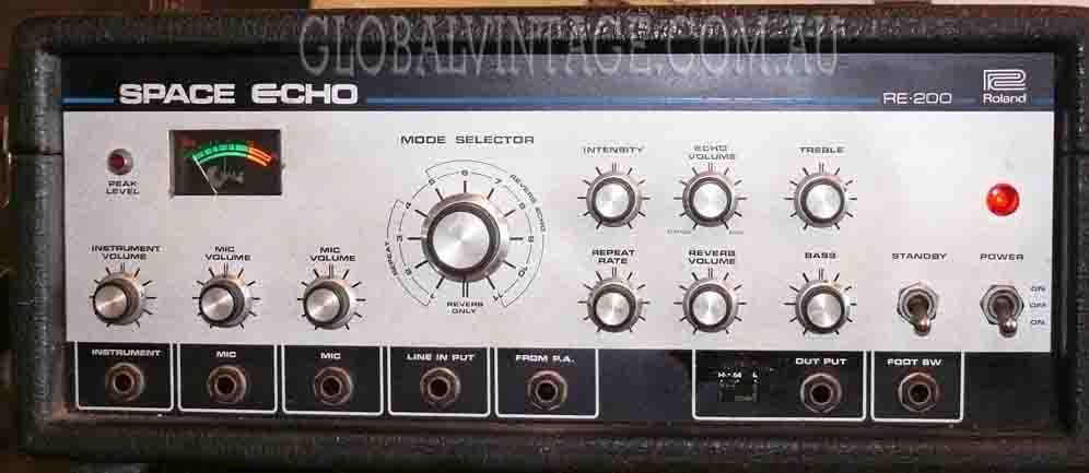 ~SOLD~Roland Japan c1970 RE 200 Space Echo
