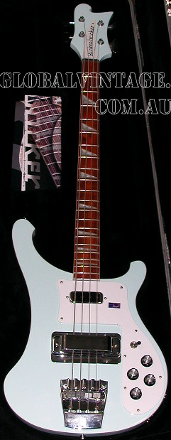 ~SOLD~Rickenbacker 2004 Model 4003-Blue Boy
