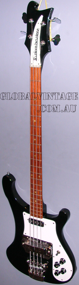 ~SOLD~Rickenbacker 1991 V63 Model 4001-RARE FACTORY JETGLOW
