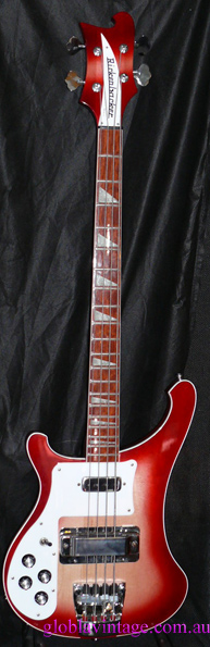~SOLD~Rickenbacker U.S.A. `02 Model 4003 LEFT HANDED
