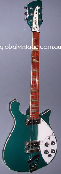 ~SOLD~Rickenbacker U.S.A. `97 Model 620- Turquoise