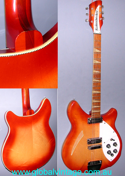 ~SOLD~Rickenbacker 1966 Model 365