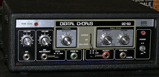 ~SOLD~Roland DC-50 Digital Chorus / Hall Echo