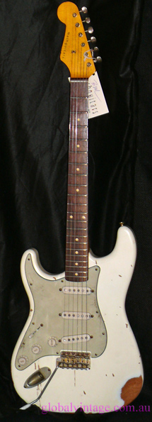 ~HOLD~Nash U.S.A. S63 left handed `63 Stratocaster type
