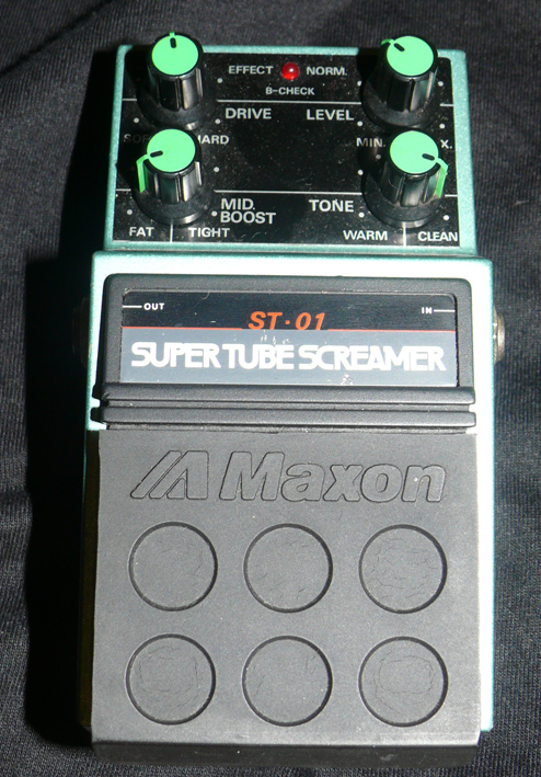 Maxon Japan ST-01 SUPER TUBE SCREAMER