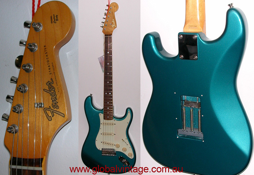"~SOLD~Fender Japan C.I.J. ""R"" series `65 Stratocaster R.I."