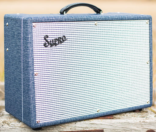 Supro U.S.A. 1648RT Saturn Reverb Amplifier