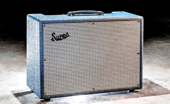 "~In Transit~Supro U.S.A. 1624T Dual Tone 1 x 12"" Combo"