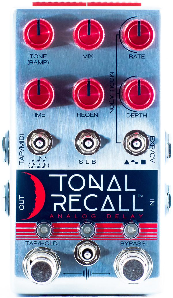 Chase Bliss Tonal Recall RKM (Red Knob Model)