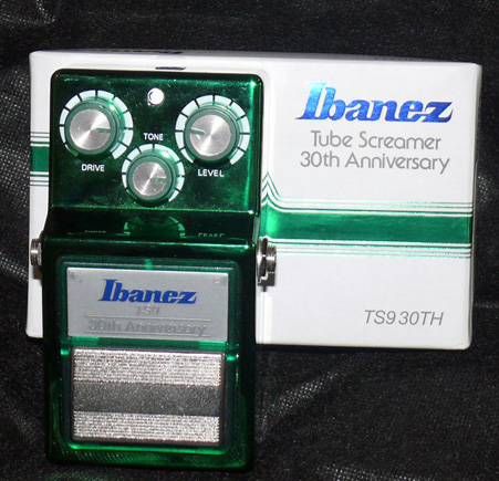 ~SOLD~Ibanez TS-9 30th Anniversary Tube Screamer